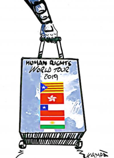 HUMAN RIGHTS WORLD TOUR 2019