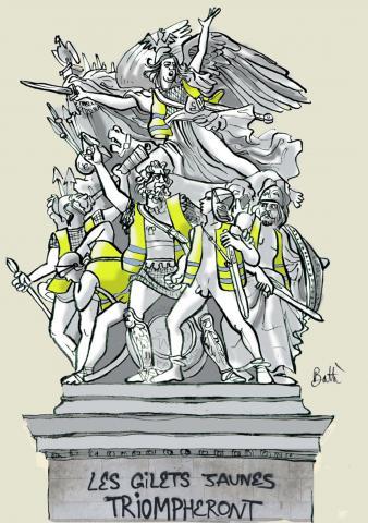 """Résultat de recherche d'images pour """"gilet jaunes triompheront"""""""